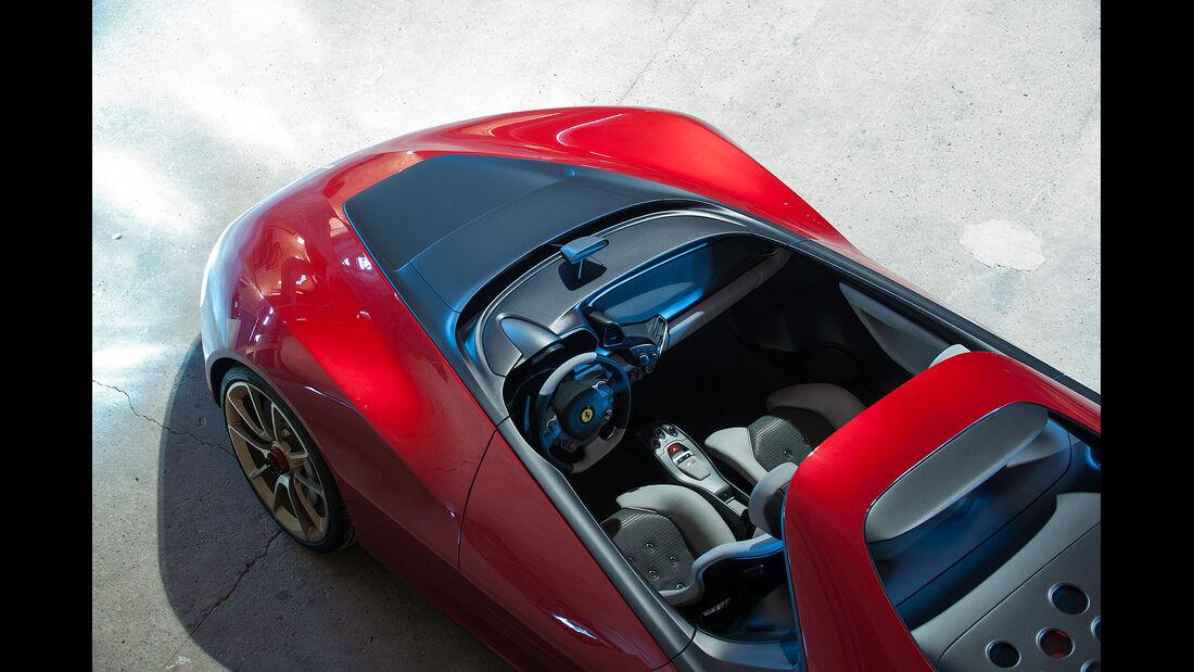 Pininfarina Sergio Concept, Innenraum, Cockpit