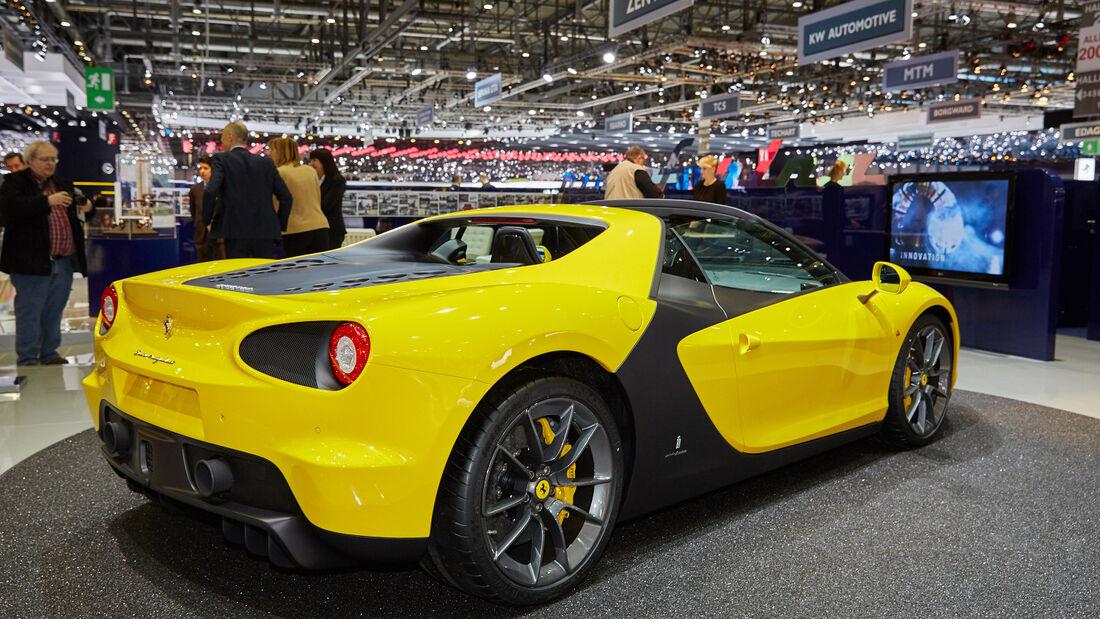 Pininfarina Sergio Ferrari - Genfer Autosalon 2015