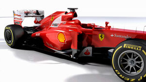 Piola Animation Ferrari Updates Mugello / Spanien 2012
