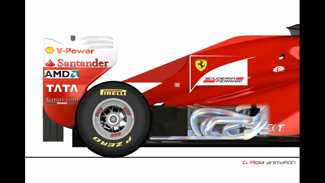 Piola Auspuff F1 2011