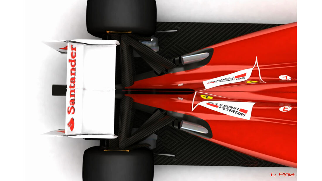 Piola Auspuff F1 2012