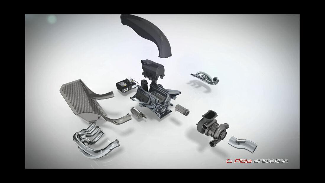 Piola F1-Technik - Motor - Power Unit - 2014