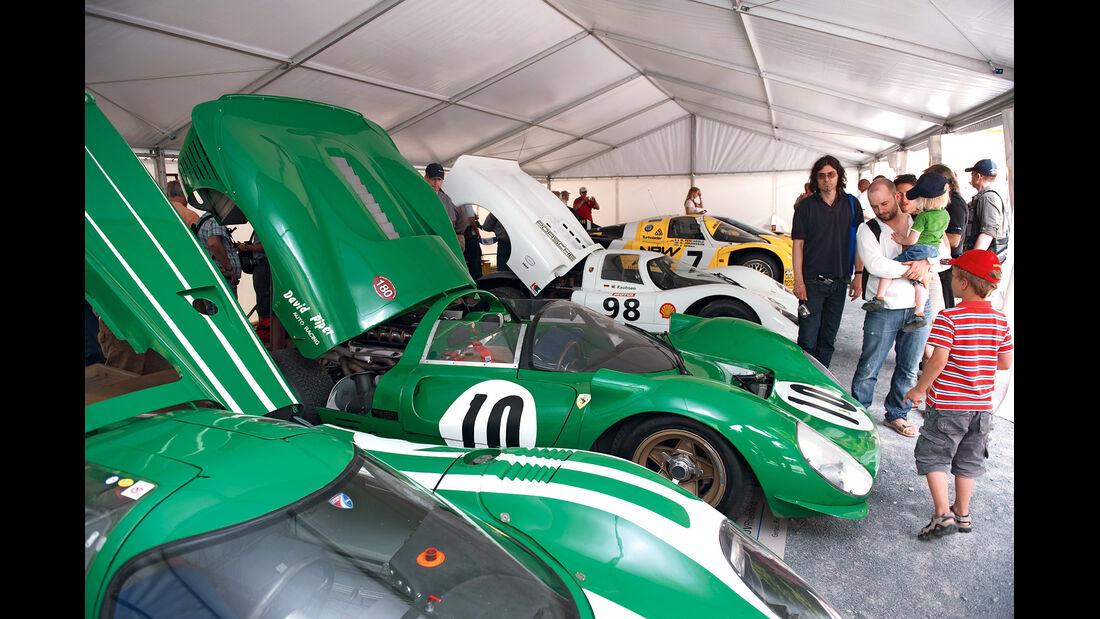 Pipers Porsche 917, Ferrari P4