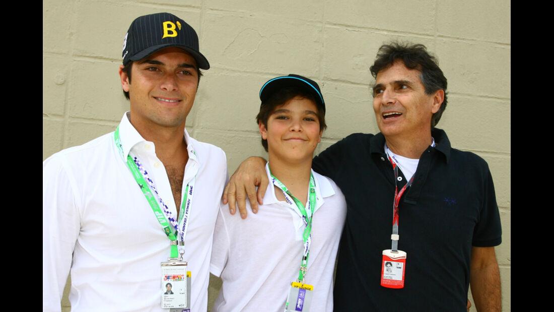 Piquet-Familie - GP Brasilien - 26. November 2011