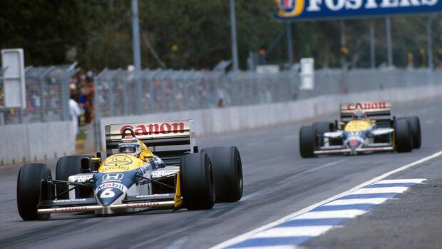 Piquet & Mansell - Formel 1 - 1986