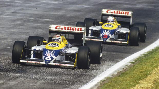 Piquet & Mansell - GP Mexiko 1987