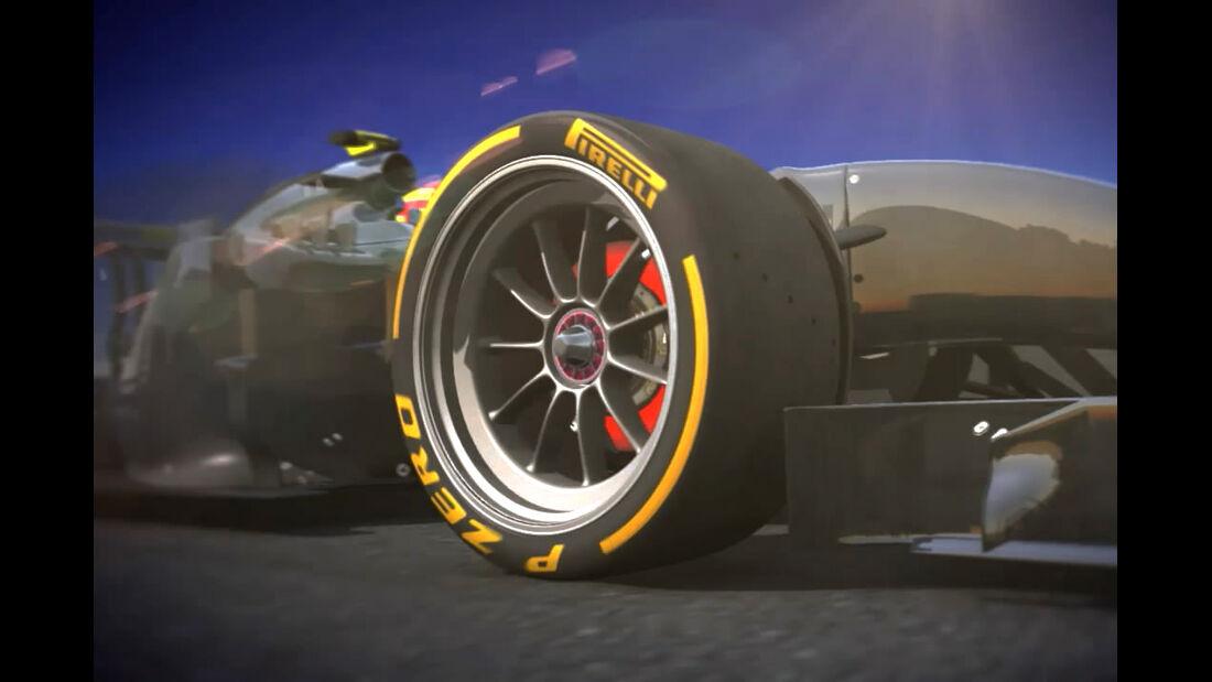 Pirelli - 18 Zoll Formel 1 Reifen - 2014