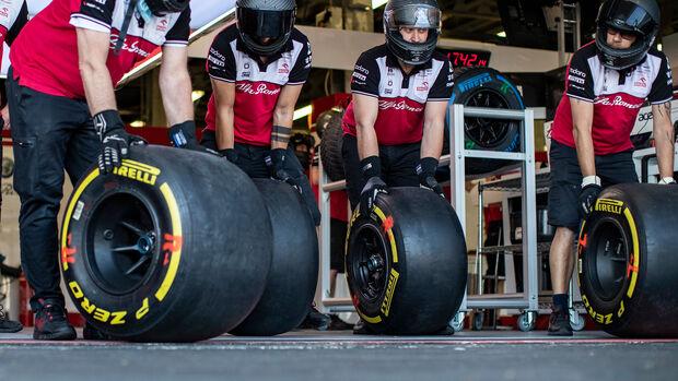 Pirelli - Alfa Romeo - Formel 1 - 2021