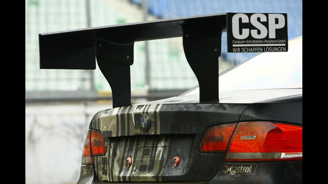 Pirelli-BMW M3 GT4 Heckflügel
