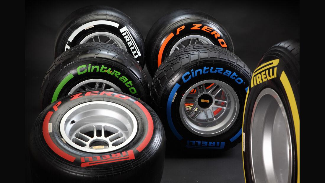 Pirelli F1 Reifen 2013