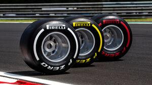 Pirelli - F1-Reifen 2018