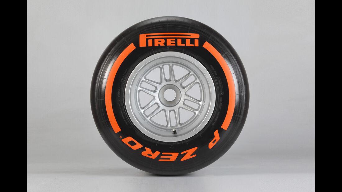 Pirelli F1 Reifen Hard