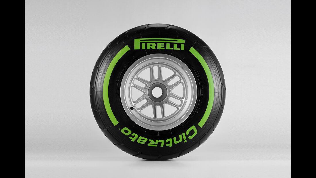 Pirelli F1 Reifen Hard Intermediates