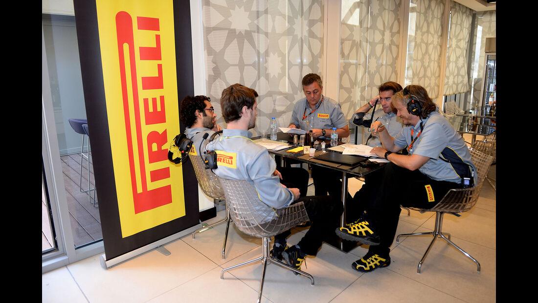 Pirelli - F1 Test - Abu Dhabi - Dienstag - 1.12.2015