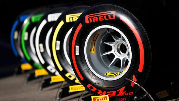 Pirelli - F1-Test - Barcelona  - 14. Mai 2019