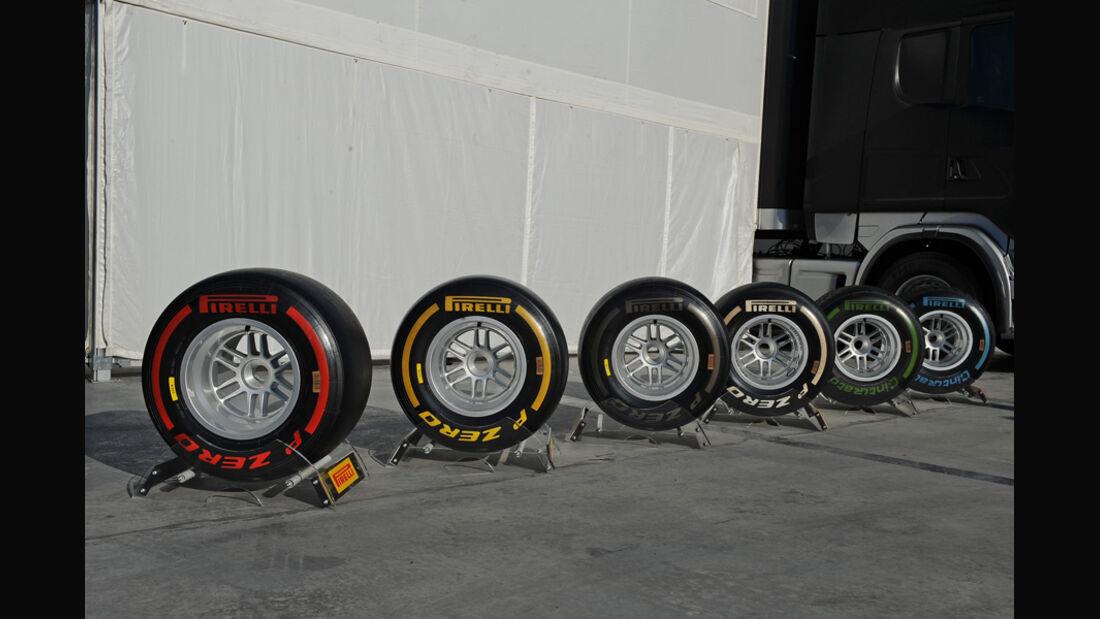 Pirelli - F1-Test - Barcelona 2012