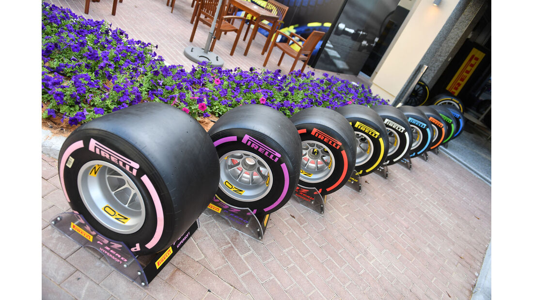 Pirelli - F1-Testfahrten - Abu Dhabi - 27.11.2018