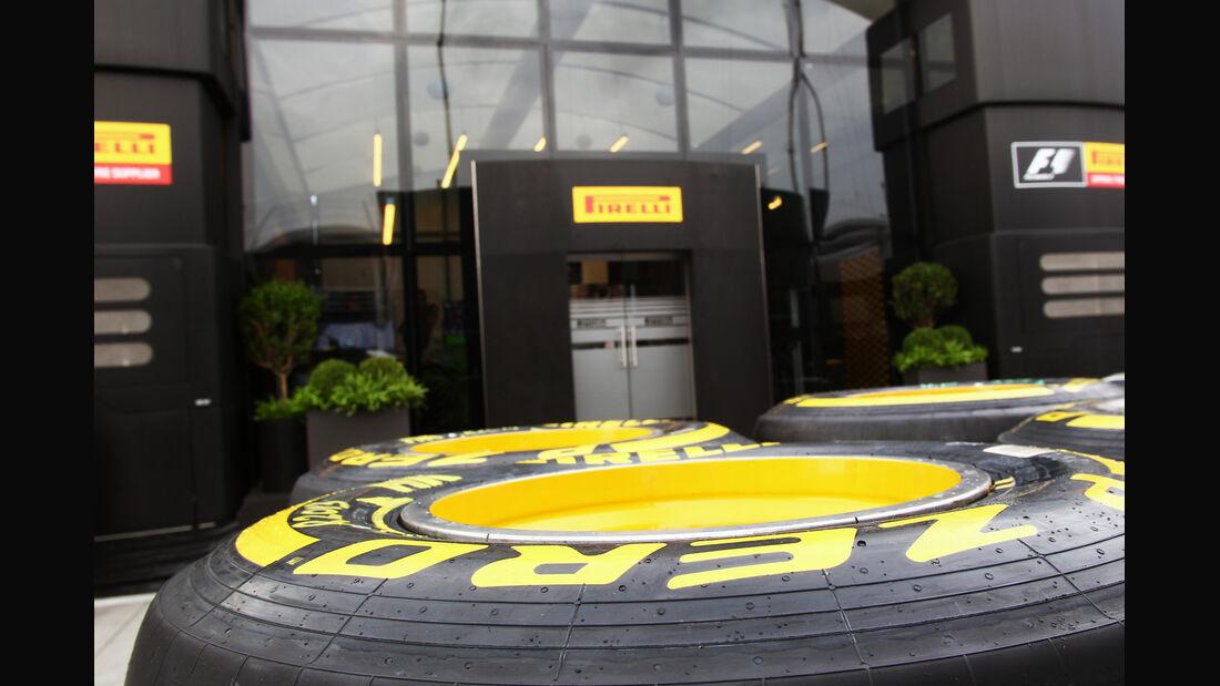 Pirelli - Formel 1 - Budapest - GP Ungarn - 26. Juli 2012