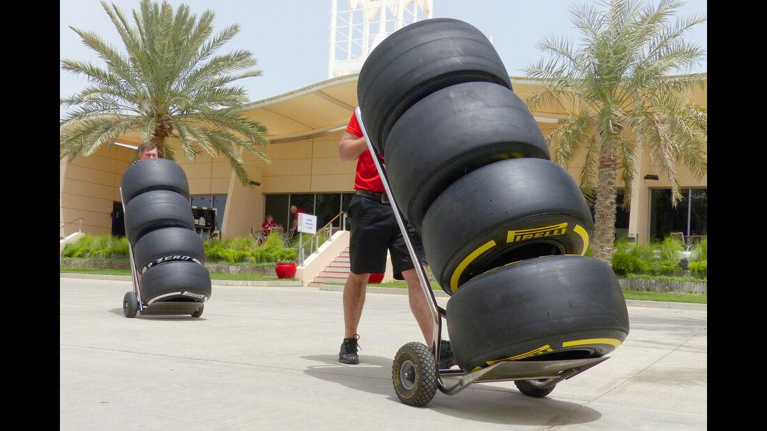 Pirelli - Formel 1 - GP Bahrain - 15. April 2015