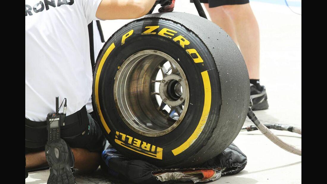 Pirelli - Formel 1 - GP Bahrain - 21. April 2012