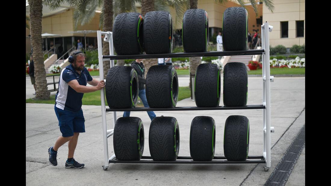 Pirelli - Formel 1 - GP Bahrain - 31. März 2016