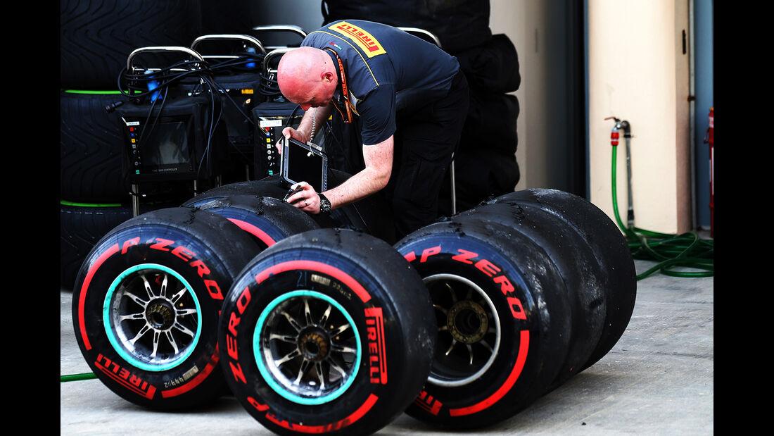 Pirelli - Formel 1 - GP Bahrain - 7. April 2018