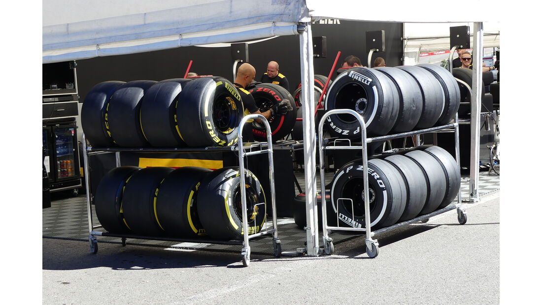Pirelli - Formel 1 - GP Belgien - 24. August 2016
