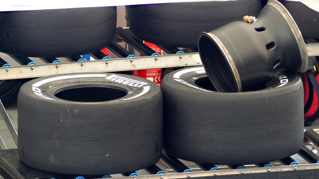 Pirelli - Formel 1 - GP Belgien - Spa-Francorchamps - 20. August 2015