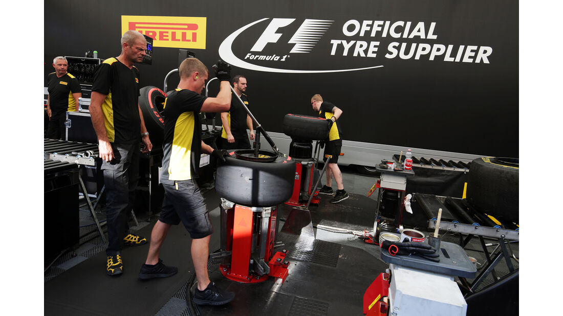 Pirelli - Formel 1 - GP Belgien - Spa-Francorchamps - 26. August 2016