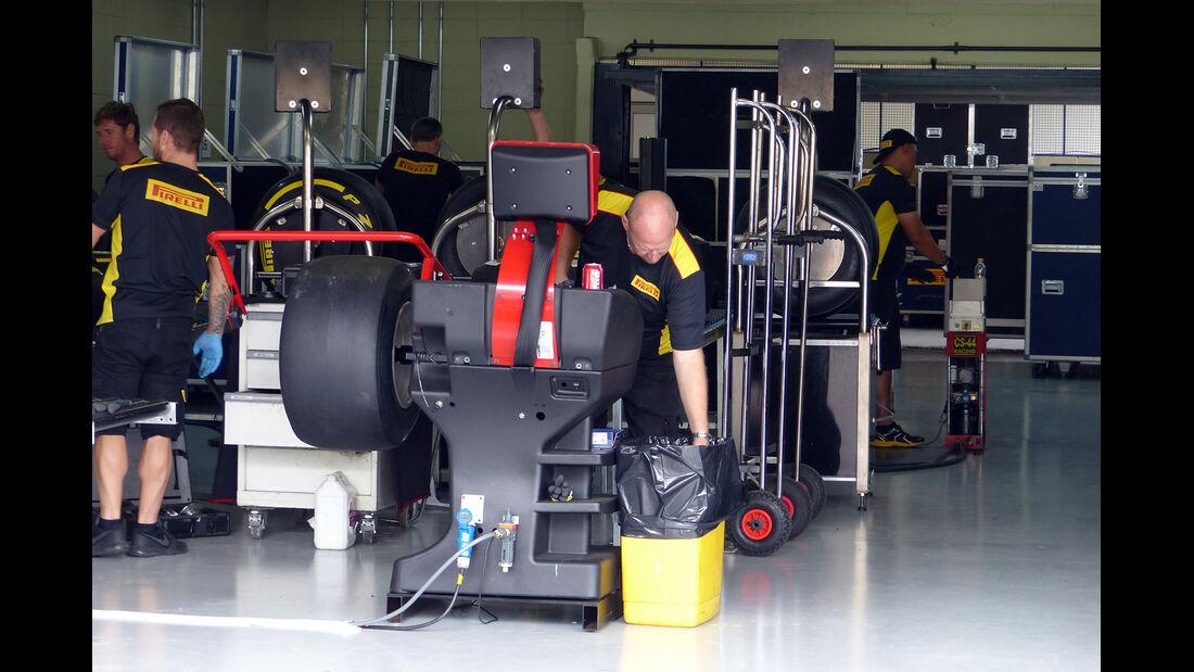 Pirelli - Formel 1 - GP Brasilien -5. November 2014