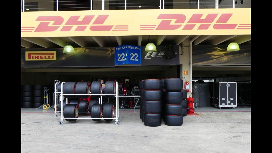 Pirelli - Formel 1 - GP Brasilien - 8. November 2017