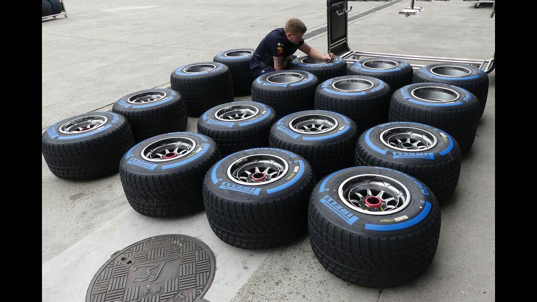 Pirelli - Formel 1 - GP China - Shanghai - 12. April 2018