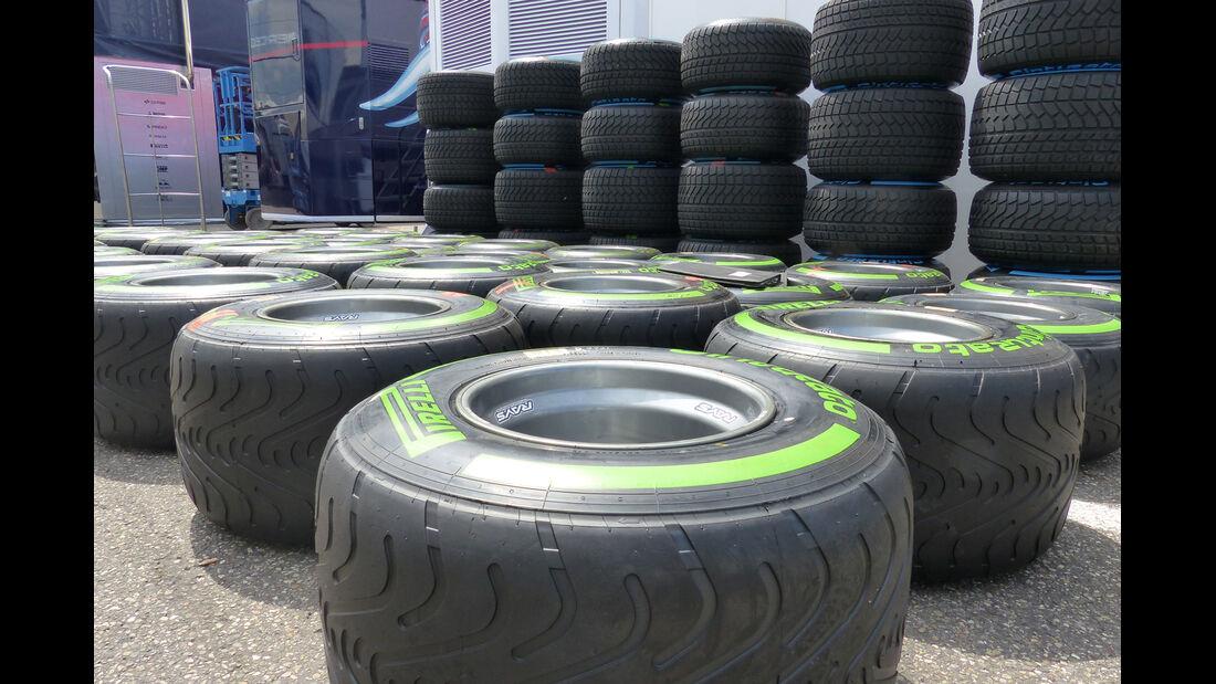 Pirelli - Formel 1 - GP Deutschland - Hockenheim - 16. Juli 2014
