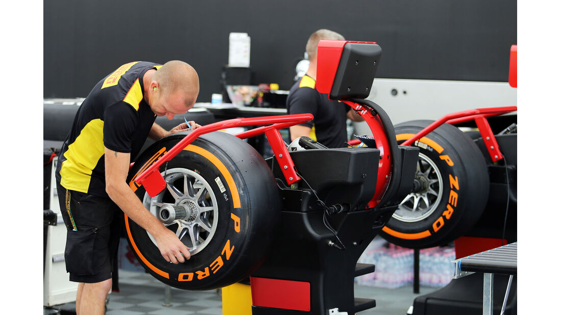 Pirelli - Formel 1 - GP England - Silverstone - 3. Juli 2014