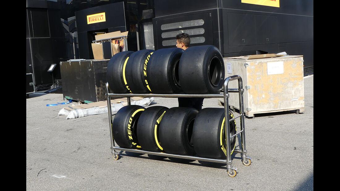 Pirelli - Formel 1  - GP Italien - Monza - 31. August 2016