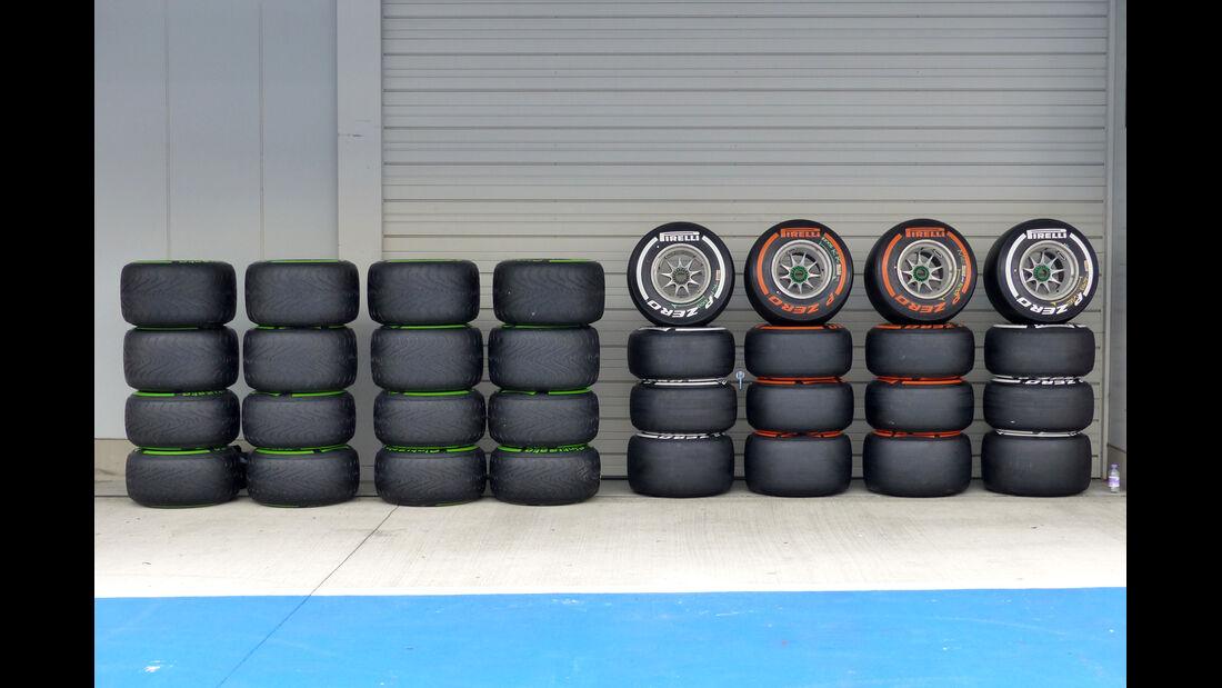 Pirelli - Formel 1 - GP Japan - Suzuka - 2. Oktober 2014