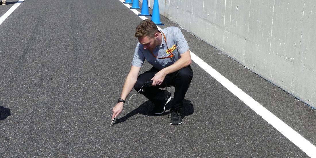 Pirelli - Formel 1 - GP Japan - Suzuka - Donnerstag - 6.10.2016