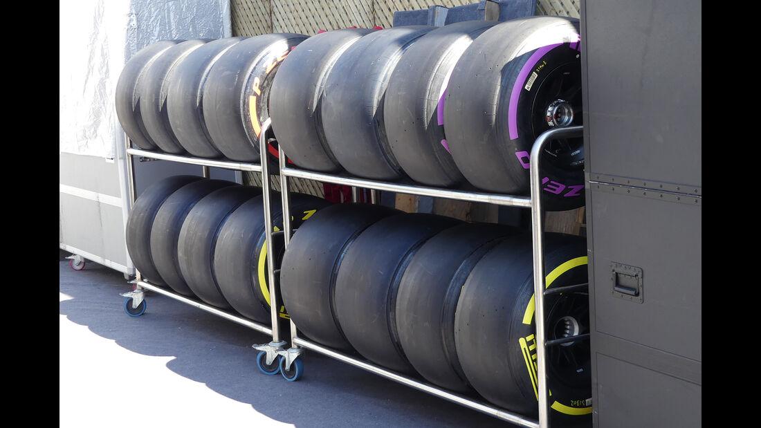 Pirelli - Formel 1 - GP Kanada  - Montreal - 7. Juni 2017