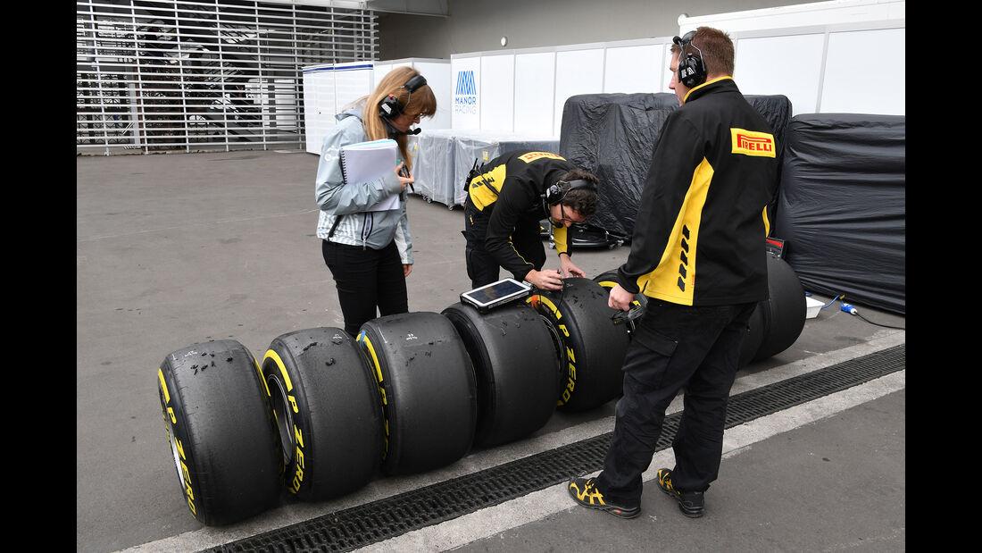 Pirelli - Formel 1 - GP Mexiko - 28. Oktober 2016