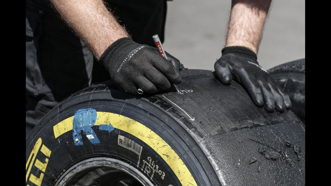Pirelli - Formel 1 - GP Mexiko - 29. Oktober 2016