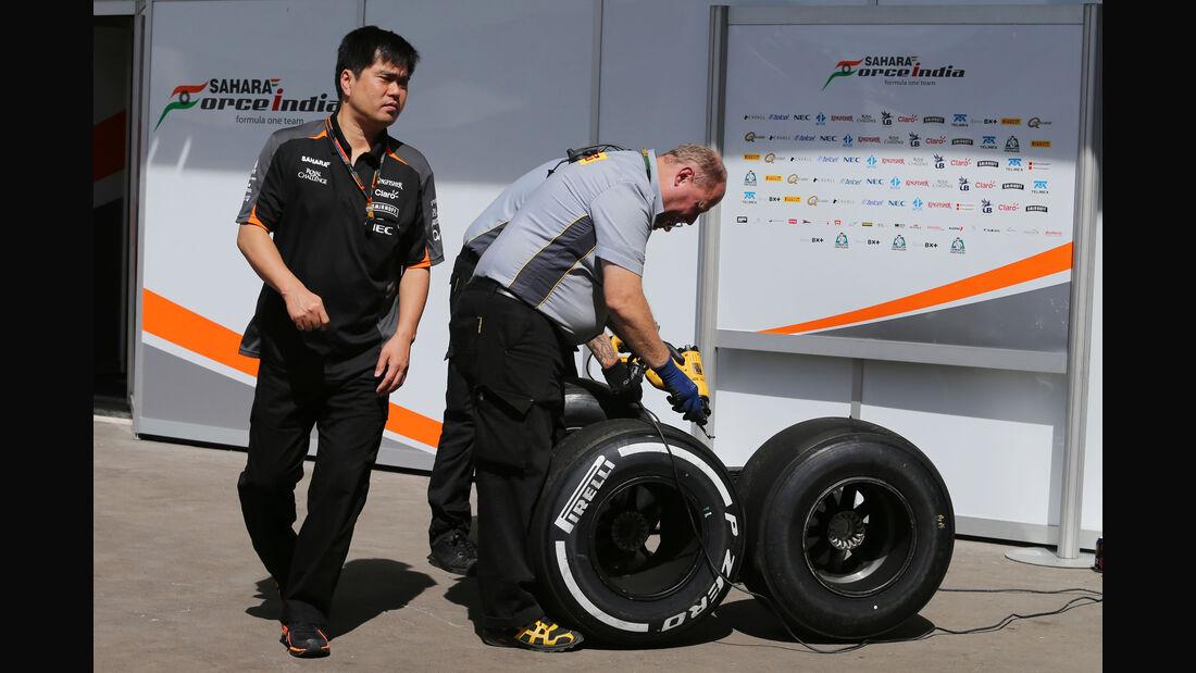 Pirelli - Formel 1 - GP Mexiko - 31. Oktober 2015