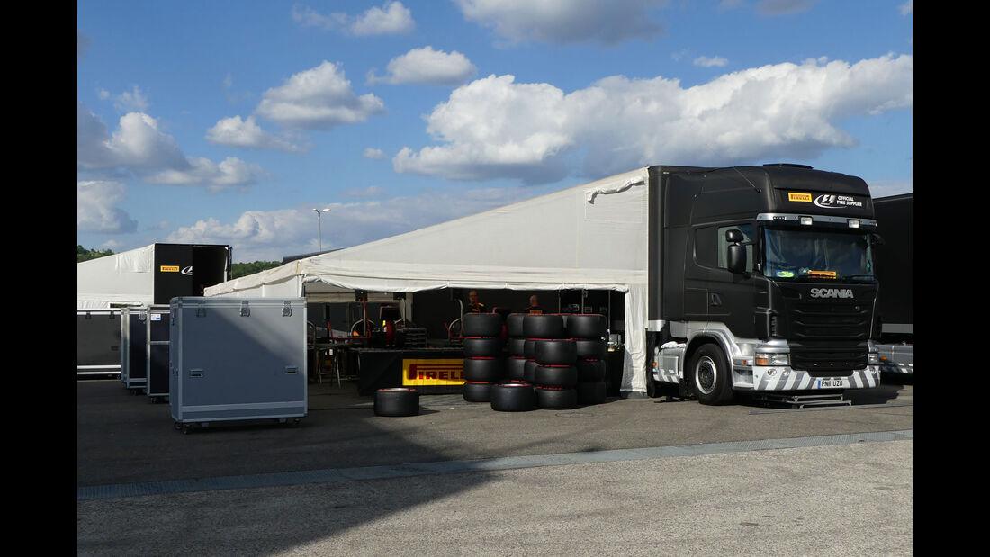 Pirelli  - Formel 1 - GP Ungarn - 20. Juli 2016