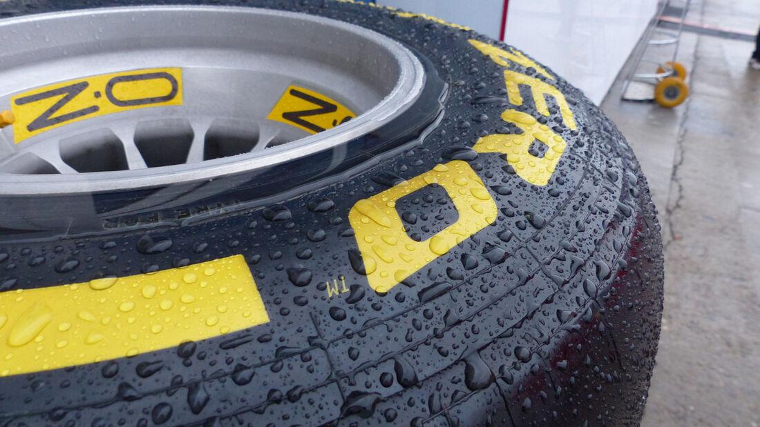 Pirelli - Formel 1 - Jerez - Test - 31. Januar 2014