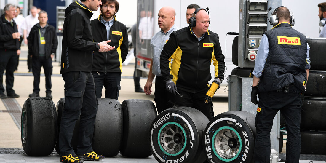 Pirelli - Formel 1 - Silverstone-Test - 12. Juli 2016