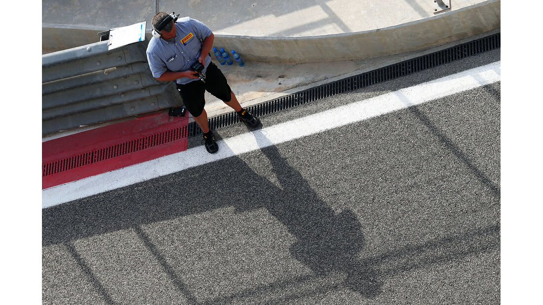 Pirelli - Formel 1 - Test - Bahrain - 28. Februar 2014