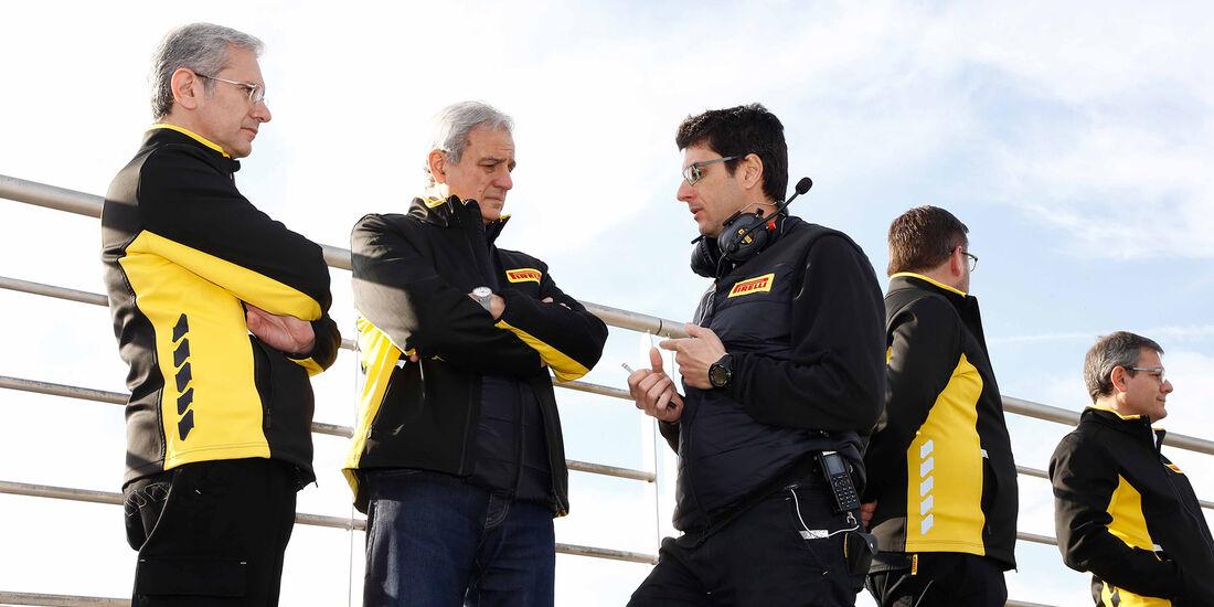 Pirelli - Formel 1 - Test - Barcelona - 2. März 2017