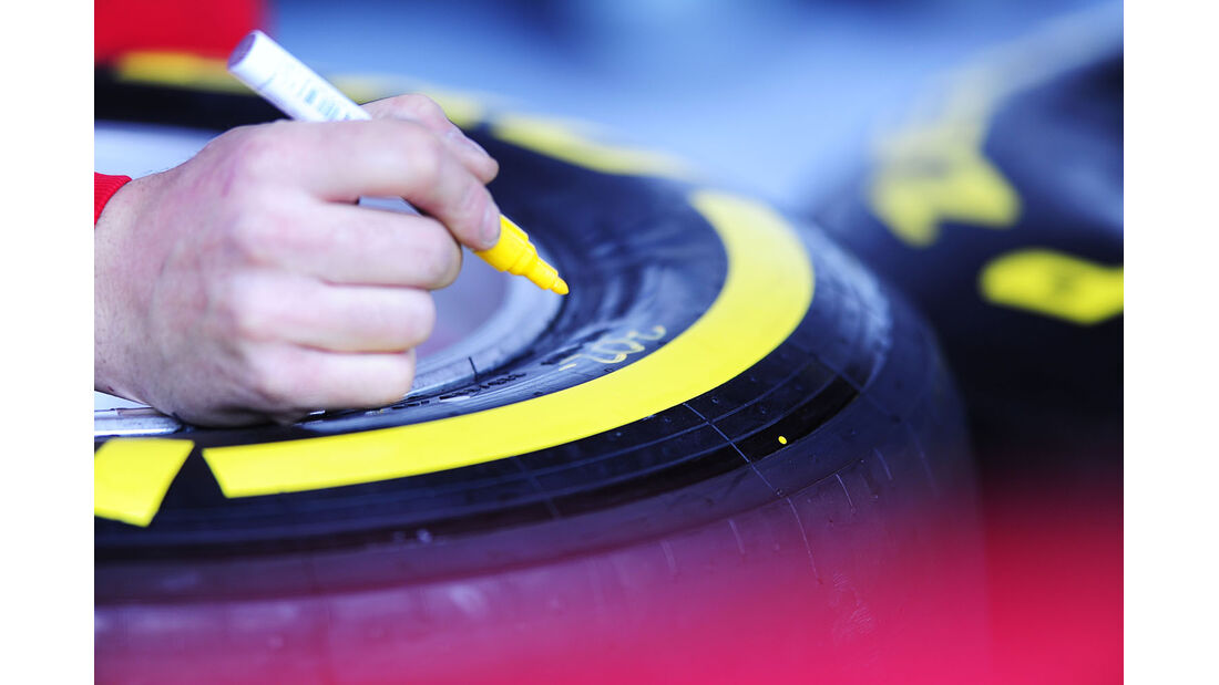 Pirelli, Formel 1-Test, Barcelona, 20. Februar 2013