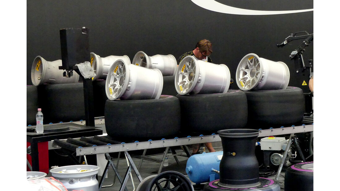 Pirelli - GP Belgien - Spa-Francorchamps - Formel 1 - 23. August 2017