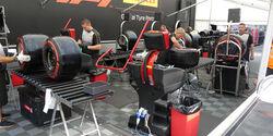 Pirelli - GP Belgien - Spa-Francorchamps - Formel 1 - Mittwoch - 28.8.2019
