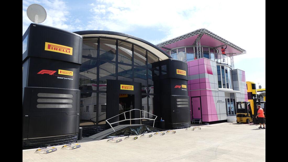 Pirelli - GP England - Silverstone - Formel 1 - Mittwoch - 4.7.2018